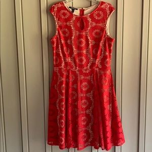 Suite 7 Lace Overlay Dress size 14